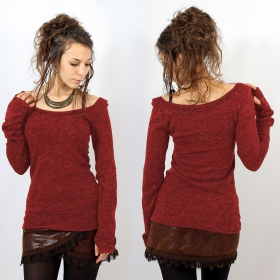 \'\'Ysïs\'\' pullover, Red