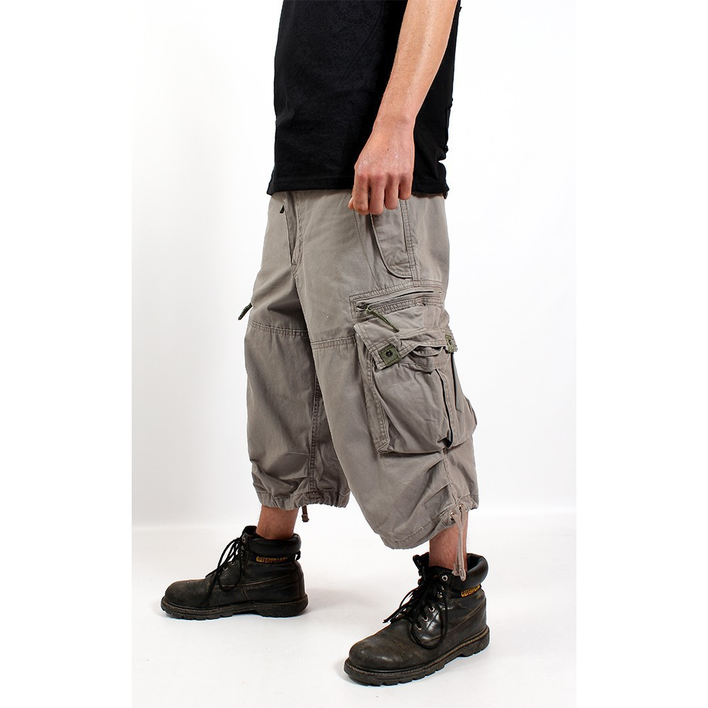 3/4 Molecule Pants 45056, Grey