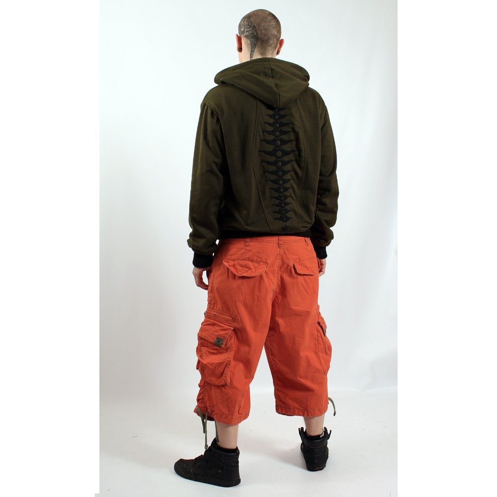 3/4 Molecule Pants 45056, Orange