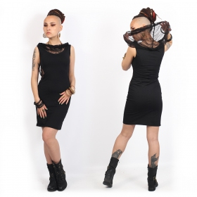"""Abbyss\"" sleeveless dress, Black"