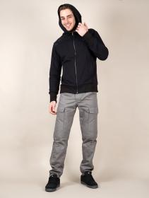 "\""Aegnor Core\"" zipped hoodie, Black"