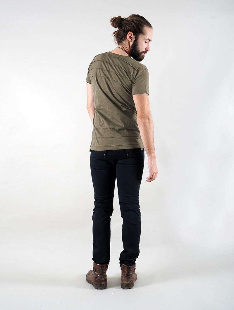 "\""Agoria\"" t-shirt, Khaki green"