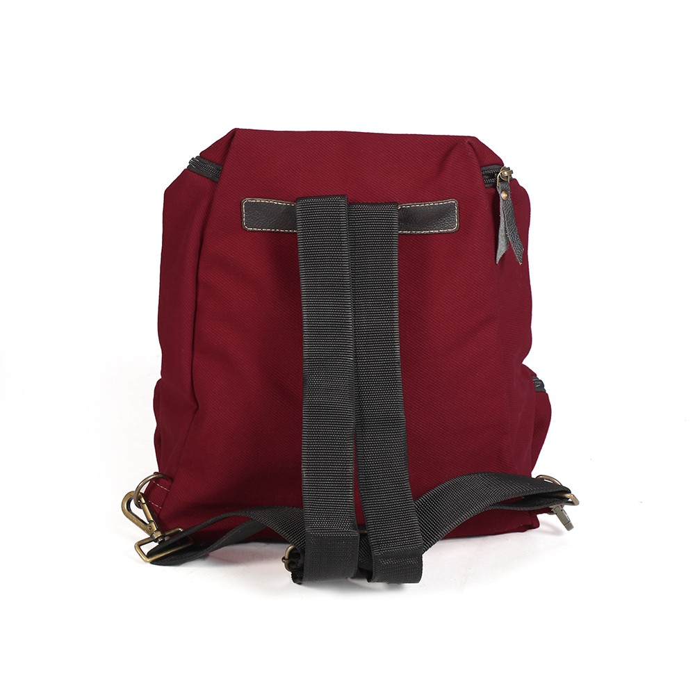 ""\""""Akamu"""" backpack, Leather and wine cotton""1000|1000|?|en|2|d729ce20777d9a690a924514ab98493a|False|UNLIKELY|0.3405921161174774