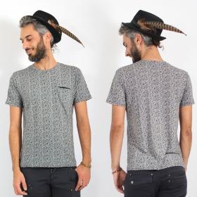 "\""Akara\"" t-shirt, Grey"