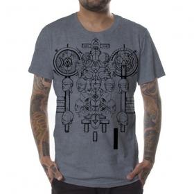 "\""Alchemist\"" t-shirt,  Grey wash"