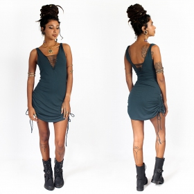 """Alchemy\"" dress,  Teal"