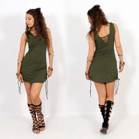 """Alchemy\"" dress, Khaki"