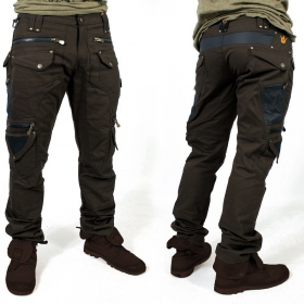 """Alternative\"" pants, Dark brown"