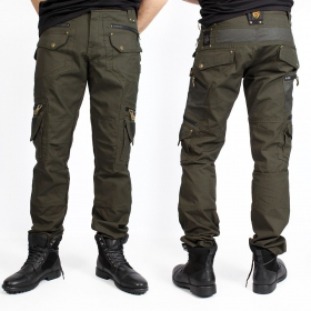 """Alternative\"" pants, Dark khaki green"