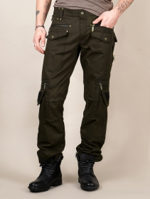 """Alternative\"" pants, Dark olive green"