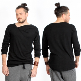 """Altoga\"" long sleeved shirt, Black"