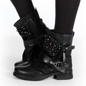 "\""Alyiah\"" boots, Black"