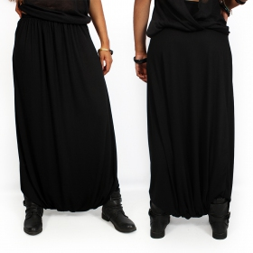 """Amadahy\"" light harem pants, Black"