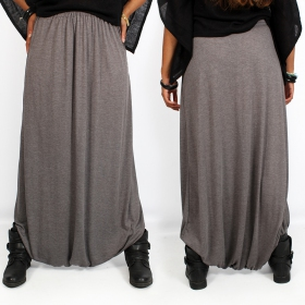 """Amadahy\"" light harem pants, Grey"