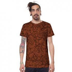 "\""Ambitones\"" t-shirt, Brick"