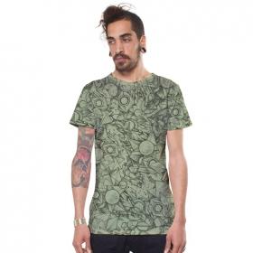 "\""Ambitones\"" t-shirt, Light green"
