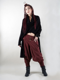 """Amira\"" Harem pants, Burgundy wine"