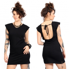"""Amnesia\"" dress, Plain Black"