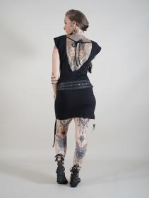 "\""Amnesia\"" dress, Plain Black"