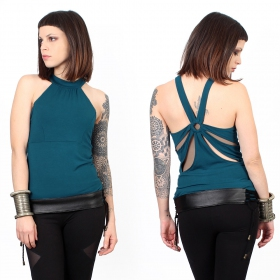 """Anaba\"" top, Teal"