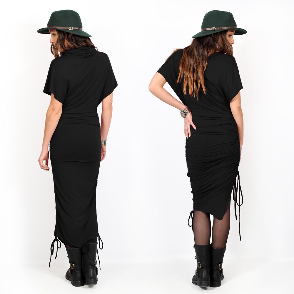 "\""Anatha\"" dress, Black"