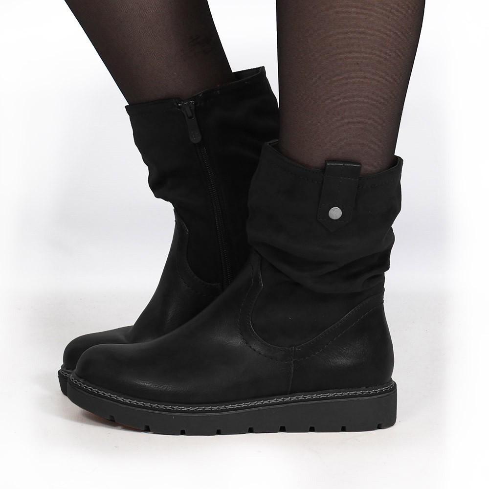 "\""Anéa\"" Boots, Black"