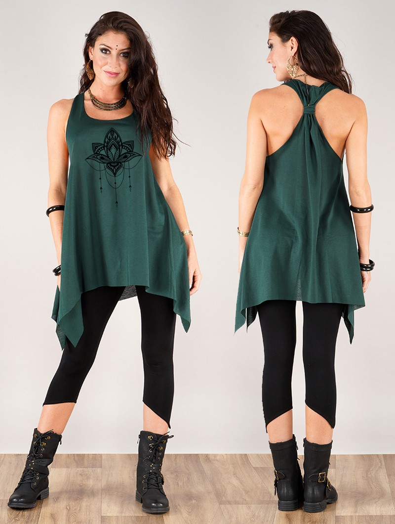 ""\""""Anitaya"""" knotted tunic - Various colors available""800|1060|?|en|2|8c4cd998b1f0e9d7f17266443a34193e|False|UNLIKELY|0.2851455807685852