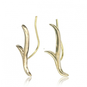 """Antlers\"" earrings"