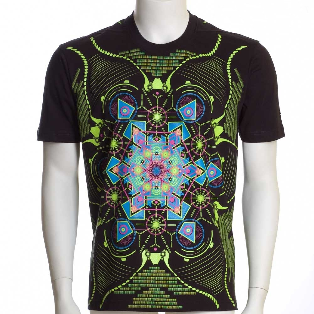 """Aquatic\"" UV t-shirt, Black"