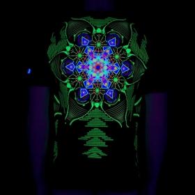 "\""Aquatic\"" UV t-shirt, Black"