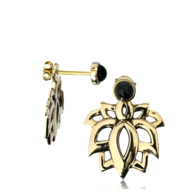 """Aravinda\"" earrings"