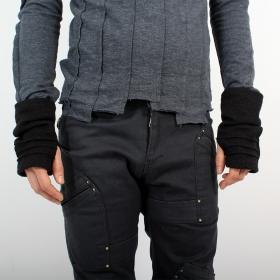 "Arm warmers for men \""MadMaxx\"", Black"