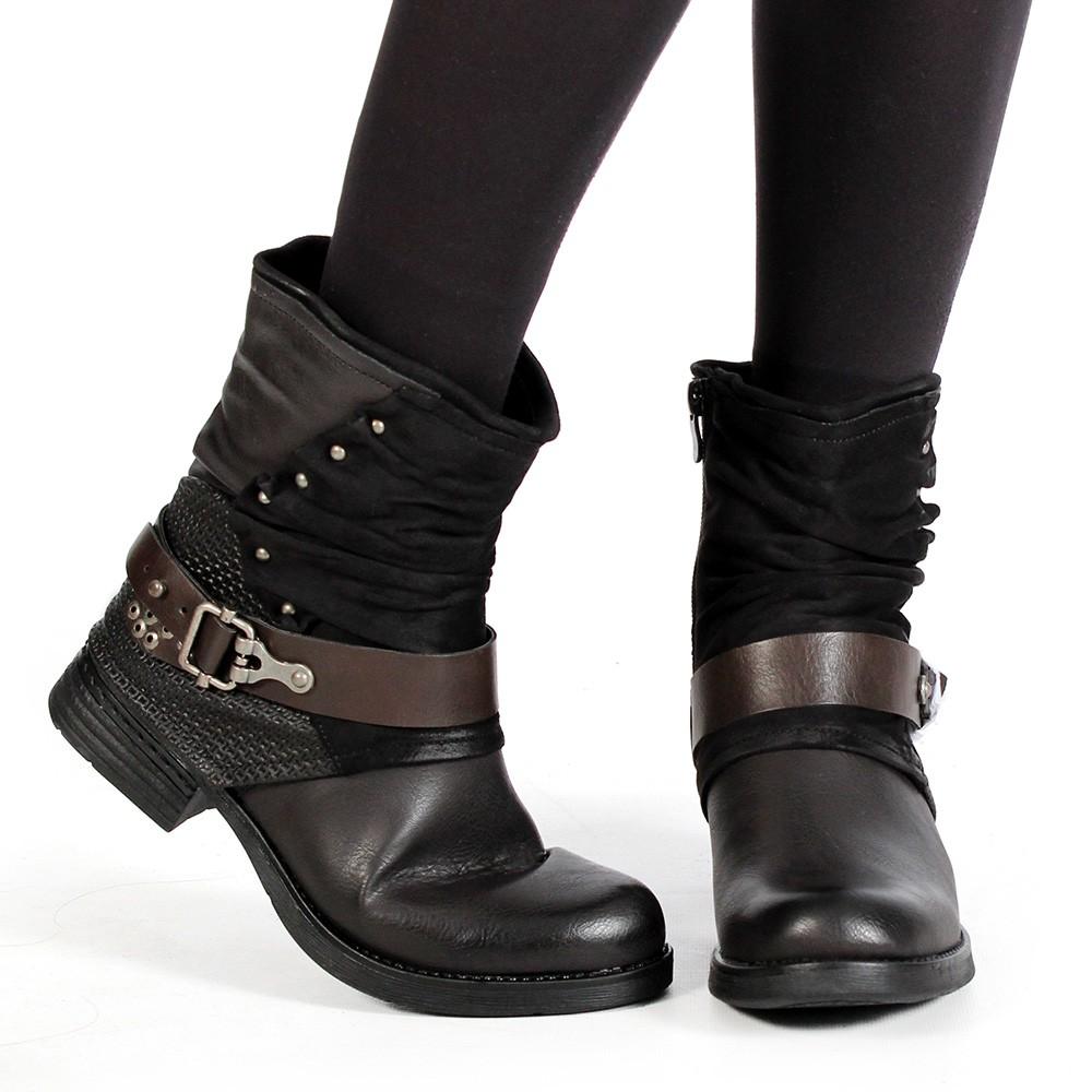"\""Arwenn\"" boots, Black"