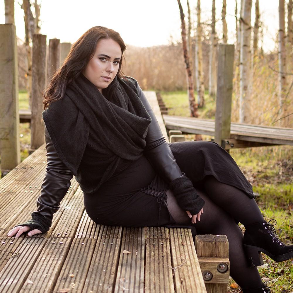 "\""Aryäa\"" dress, Black"