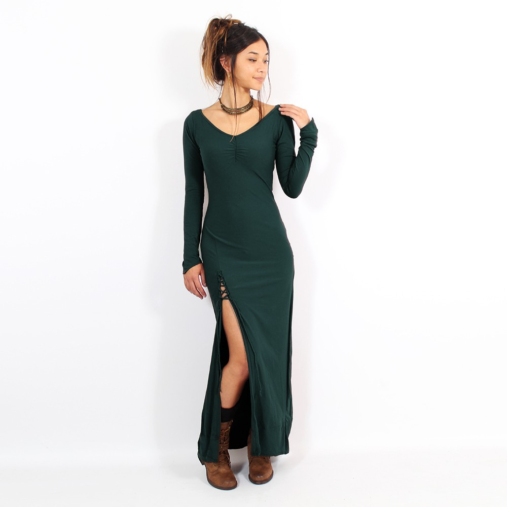 """Aryäa"" dress, Dark Teal"