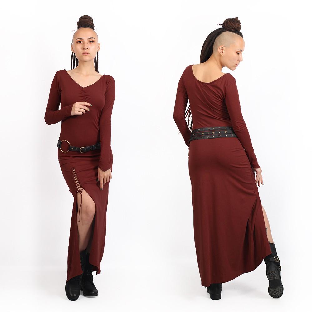 "\""Aryäa\"" dress, Sienna"