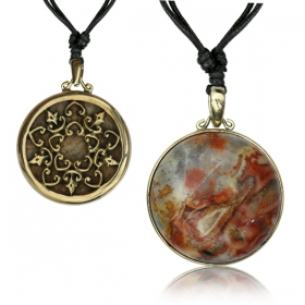 """Ashura Stone\"" necklace"