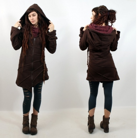 """Asymmetrical\"" jacket, Chocolate"