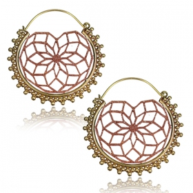 """Atanoya\"" earrings"