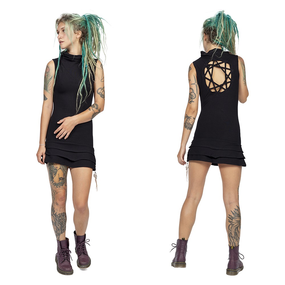 "\""Athena\"" dress, Black"