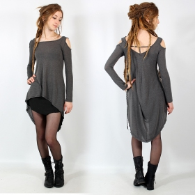 """Atsuka\"" tunic top, Grey"
