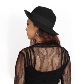 "\""Ayläaz\"" lace bolero, Black"