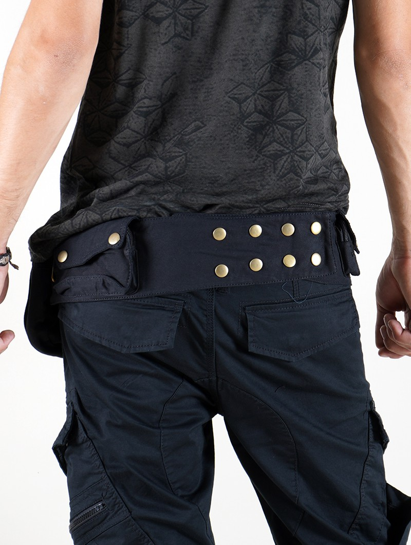 "\""Azad\"" moneybelt, Black"