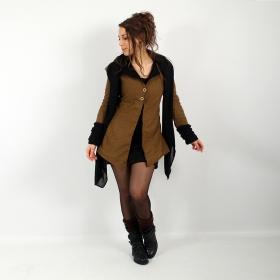 "\""Azmäe\"" lined jacket, Rusty and black"
