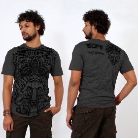 """Bali Dragon\"" T-shirt, Dark Grey"
