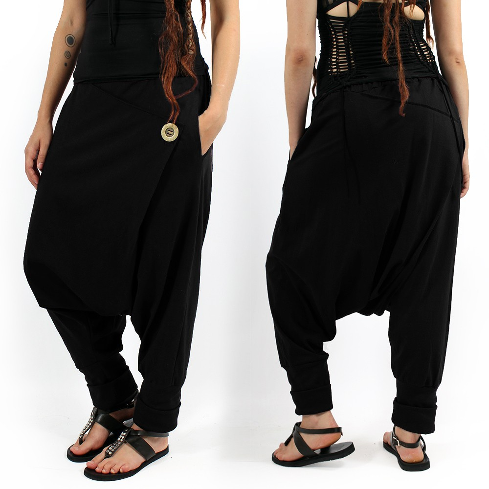 """Banilo\"" harem pants, Black"