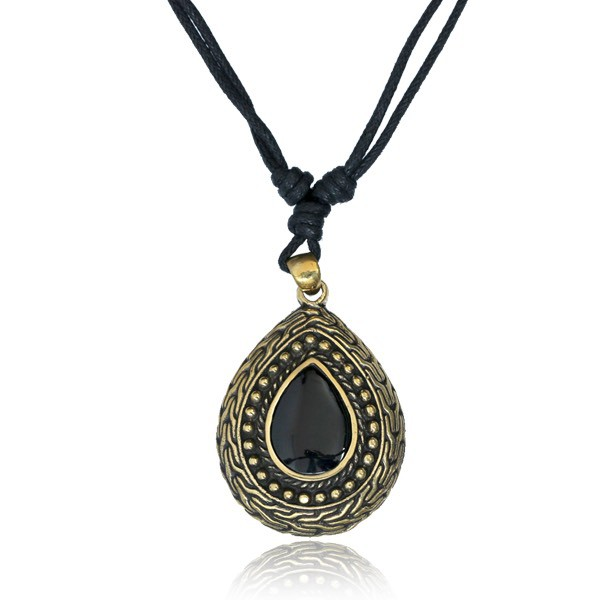 """Barindra Stone\"" necklace"