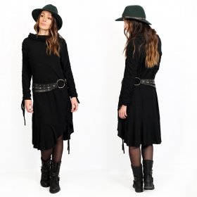 """Baylo\"" tunic-dress, Black"