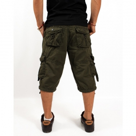 """Bayok\"" short, Khaki green"