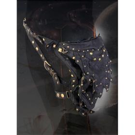 "Belt high clothing \\\""abracadabra\\\"", black"